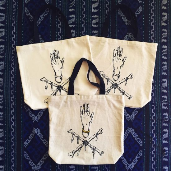 Skin x Bones Handmade Totes (w/ and w/o gold accents)